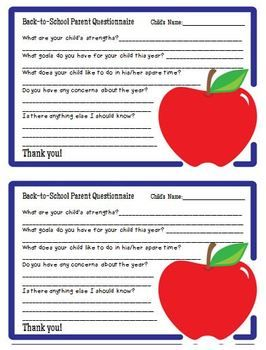 Parent Communication Pack  Parent Survey Newsletter Templates