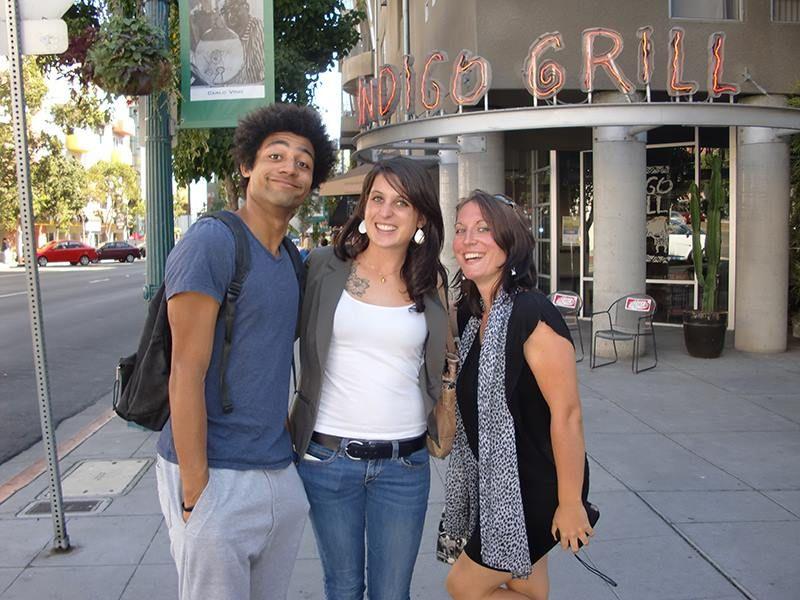 San Diego - Septembre 2013 Plus de photos sur http://instagram.com/ispaintl  Welcome Party à l'école de #sandiego avec nos chers anciens étudiants #ispa Arthur et Pauline en compagnie de Vanessa !