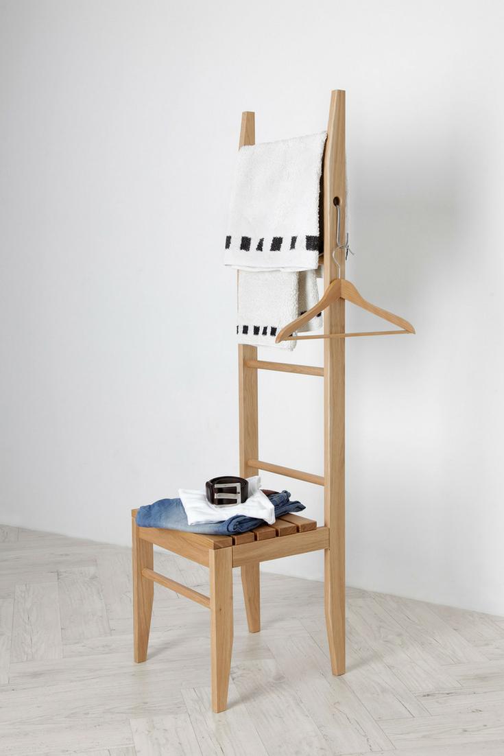 Handtuchleiter Eiche kleiderstuhl interiors