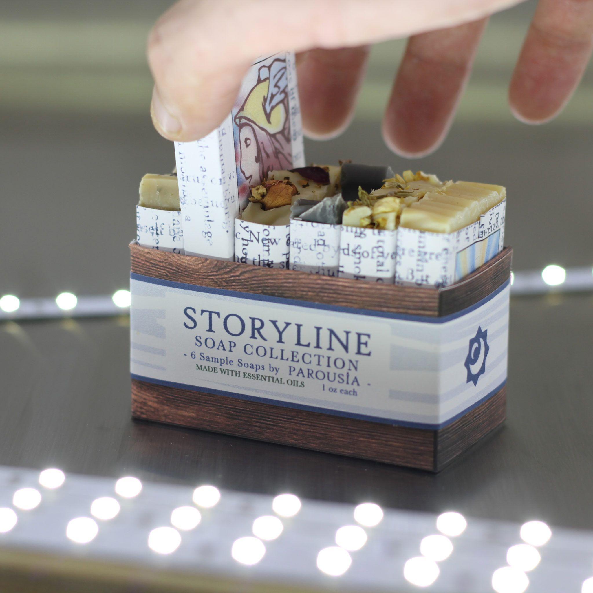 Storyline Artisan Soap Sampler #soappackaging