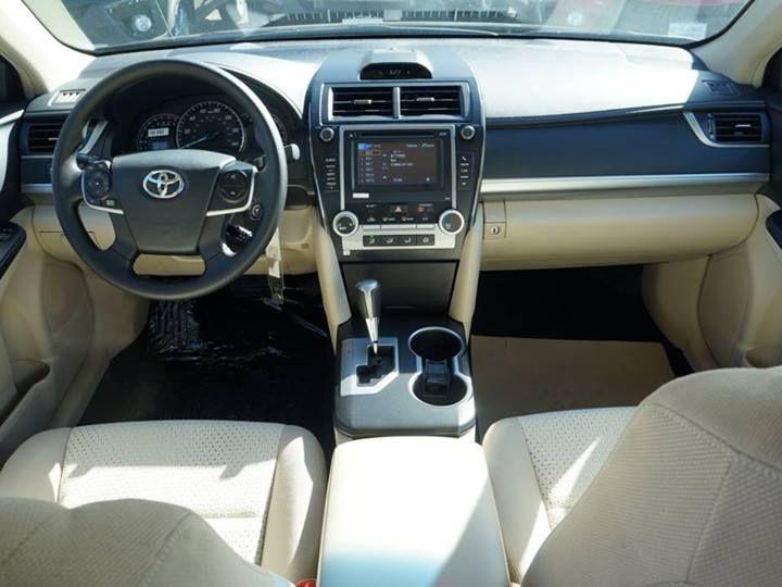 toyota camry 2014 interior dimensions