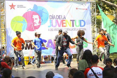 Aponte llama a los jóvenes de la Patria a defender la revolución • Gobierno del Distrito Capital