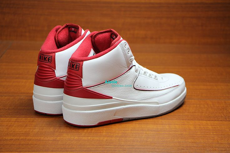 55939d39dab6 Air Jordan 2 Retro White Red New Detailed Pictures Air Jordan 2 Air Jordan  sneaker news