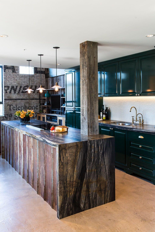 pin by beyond beige interior design on bbid powell historic industrial green kitchen on kitchen interior green id=95336
