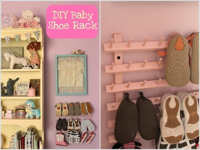 10 Cool Baby Shoe Storage Ideas For Your Baby S Nursery With Images Shoe Storage Bench Diy Diy Storage Bench Bench With Shoe Storage