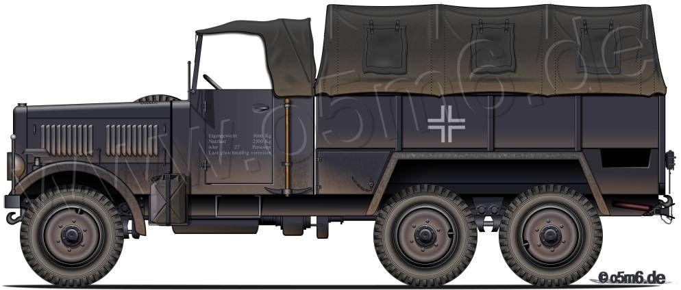 Der Panzerwagen Mercedes Engines