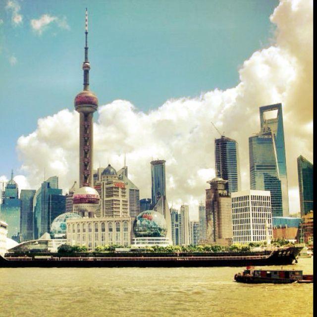 Shanghai, China.    So, so, sooo beautiful. I wish I had the chance to be in the city longer. >
