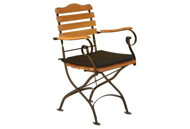 Tosca Bistro Armchair, Black