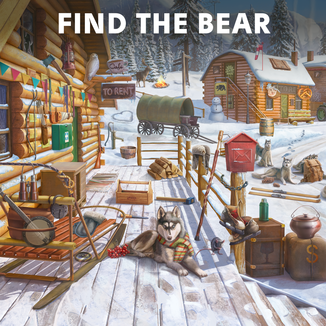 Stimulate your mind with the most exciting hidden object