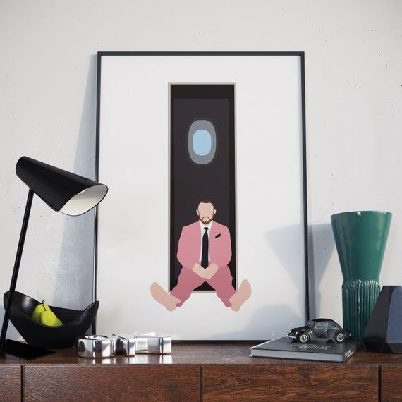 Mac Miller Poster. Mac Miller Swimming Poster. Print.