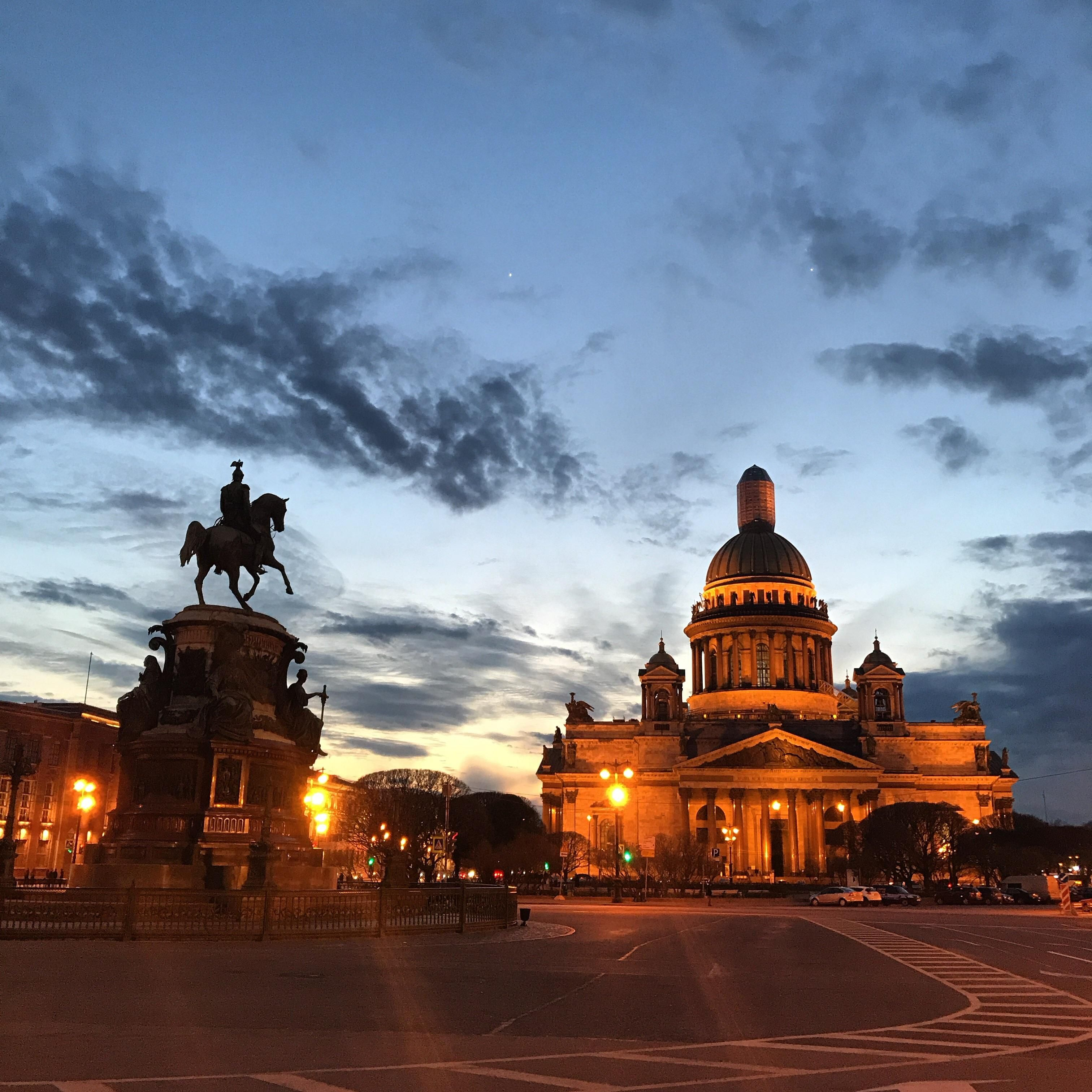 White Nights are starting in St  Petersburg Russia | Travel