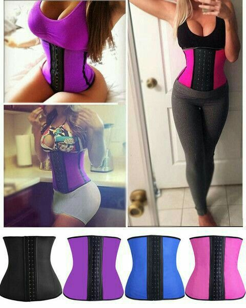 These Are Waist Cinchers And Help Lose Water Weight When Working Out