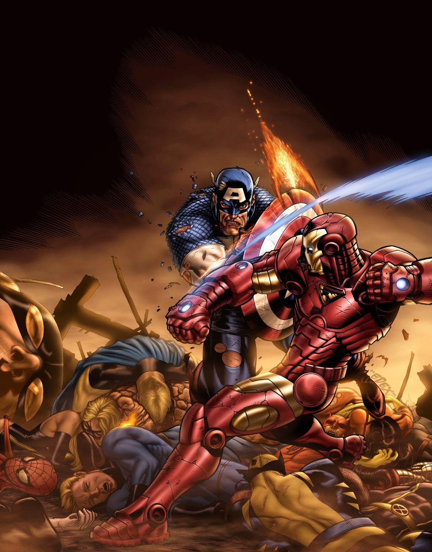 Civil War Color Battle By Vic55b