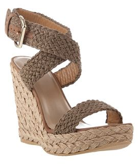 buy sale online Stuart Weitzman Woven Espadrille Wedges clearance prices fb5zi