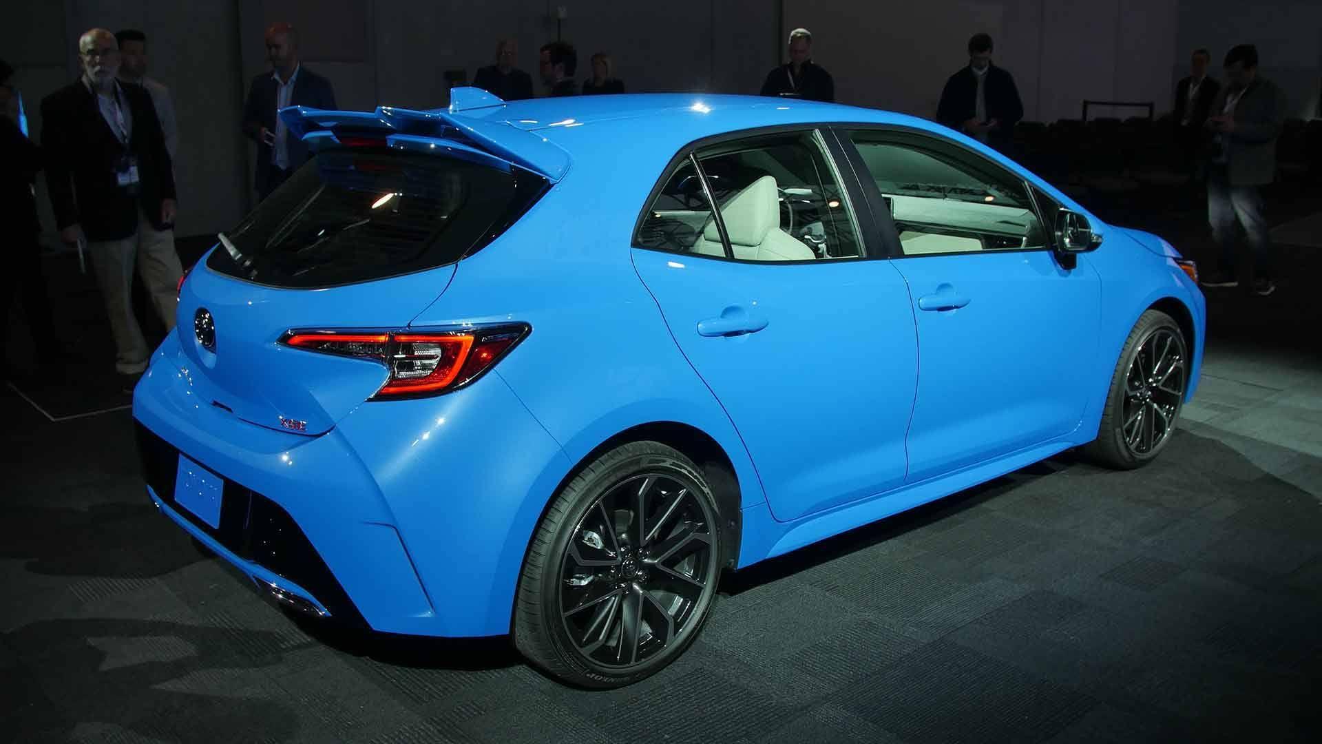 2019 Toyota Corolla Hatchback Motor1 Com Photos Dream Cars