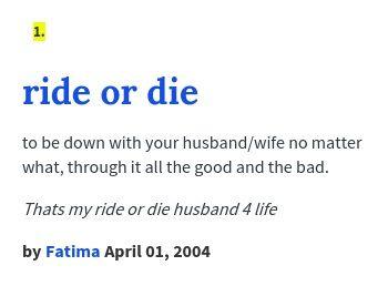 ride or die porn