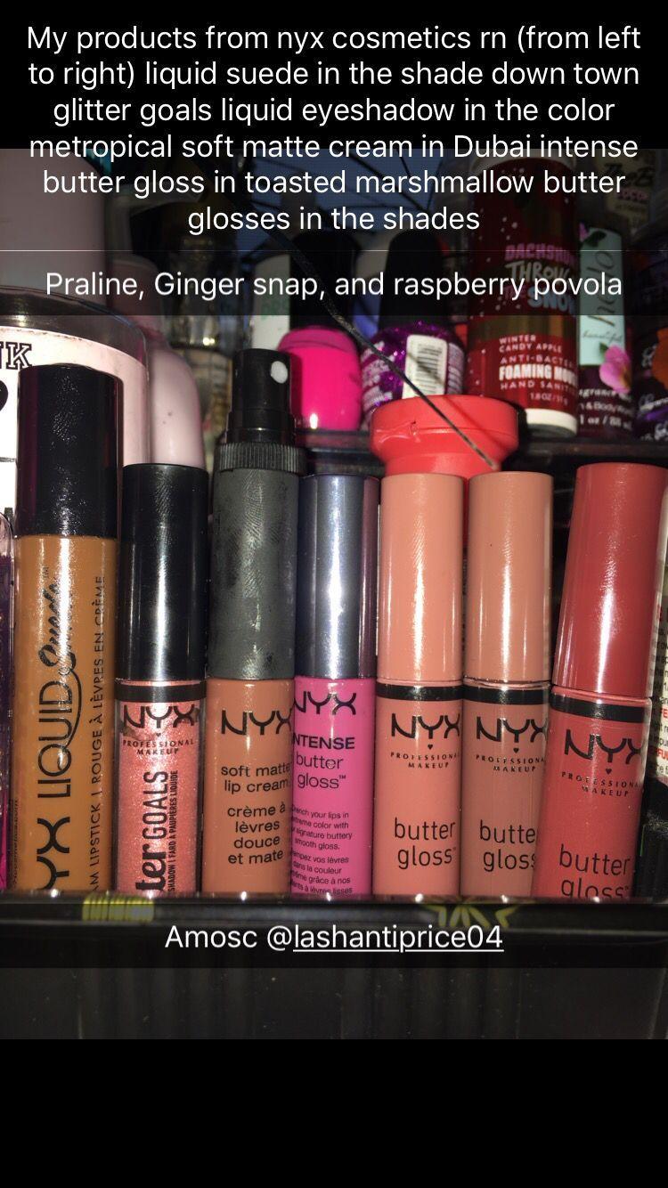 Nyxcosmetics Nyx Makeup Lipgloss Lipstick Favorites Favorite