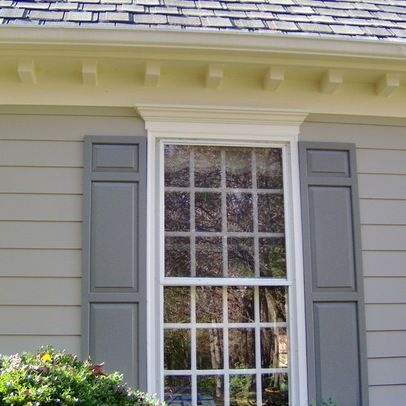 Outside window trim ideas exterior window trim design for Decorative window trim exterior