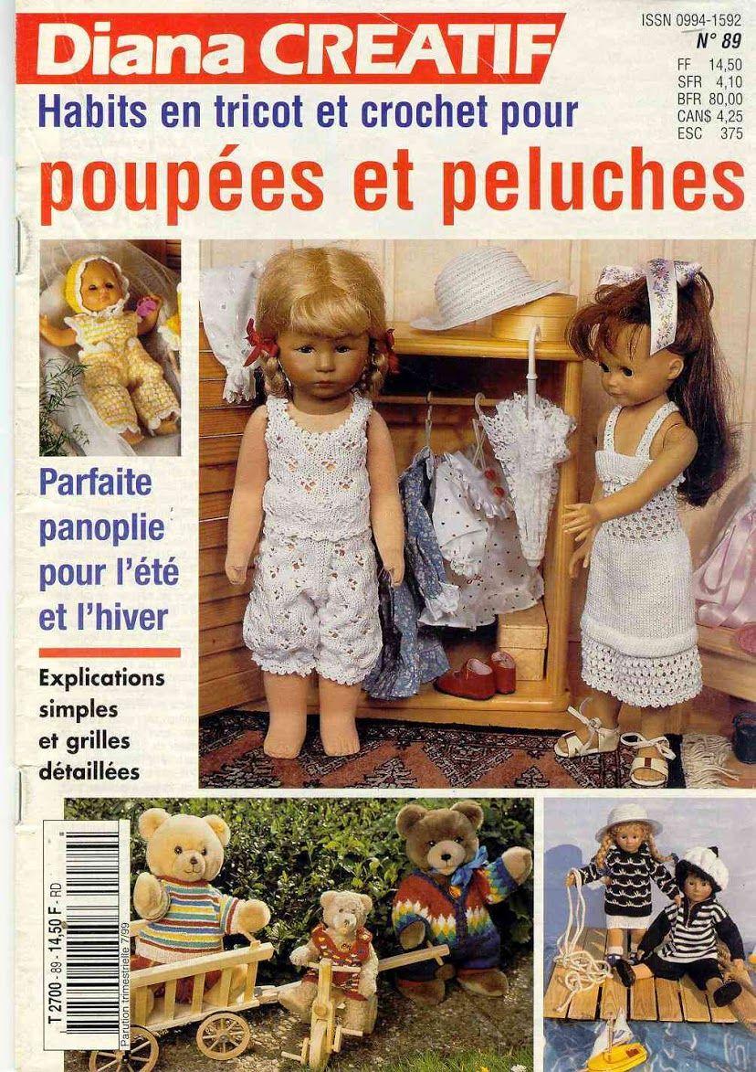 Arquivo dos álbuns   Roupas de crochê, Roupas, Roupas de boneca