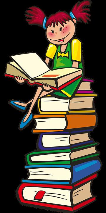 Free Image On Pixabay Girl Books School Reading Libri Lettura Le Idee Della Scuola