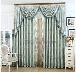 Blackout Majesty Teal Drapes Curtains Eyelet Pleat For More