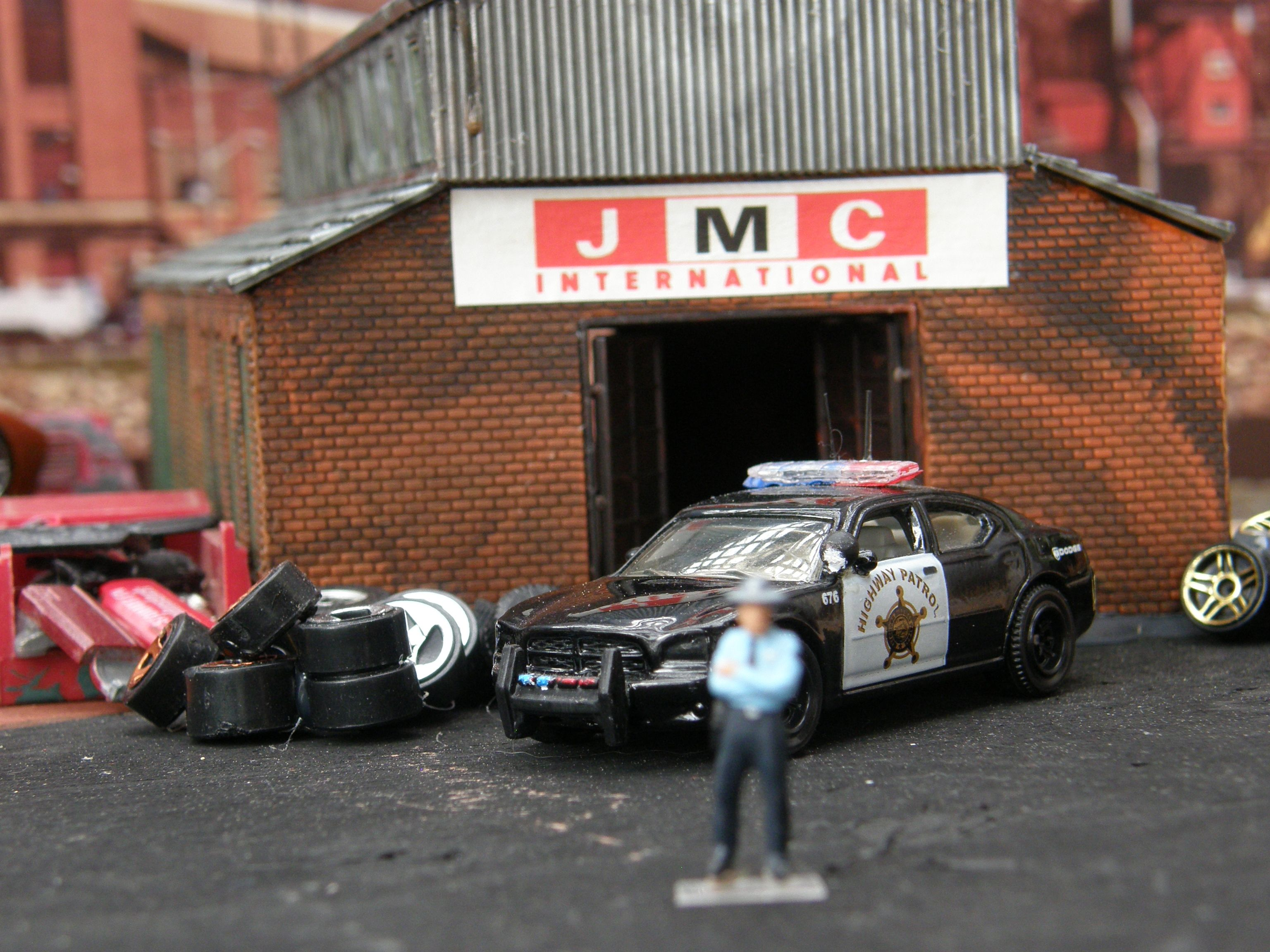 Hotwheels Car Toy Police Car Miniature Custom Model Cool Fun Dodge - Cool fun cars