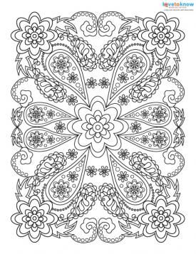 Adult Coloring Pages for Stress Relief | Stress relief, Adult ...