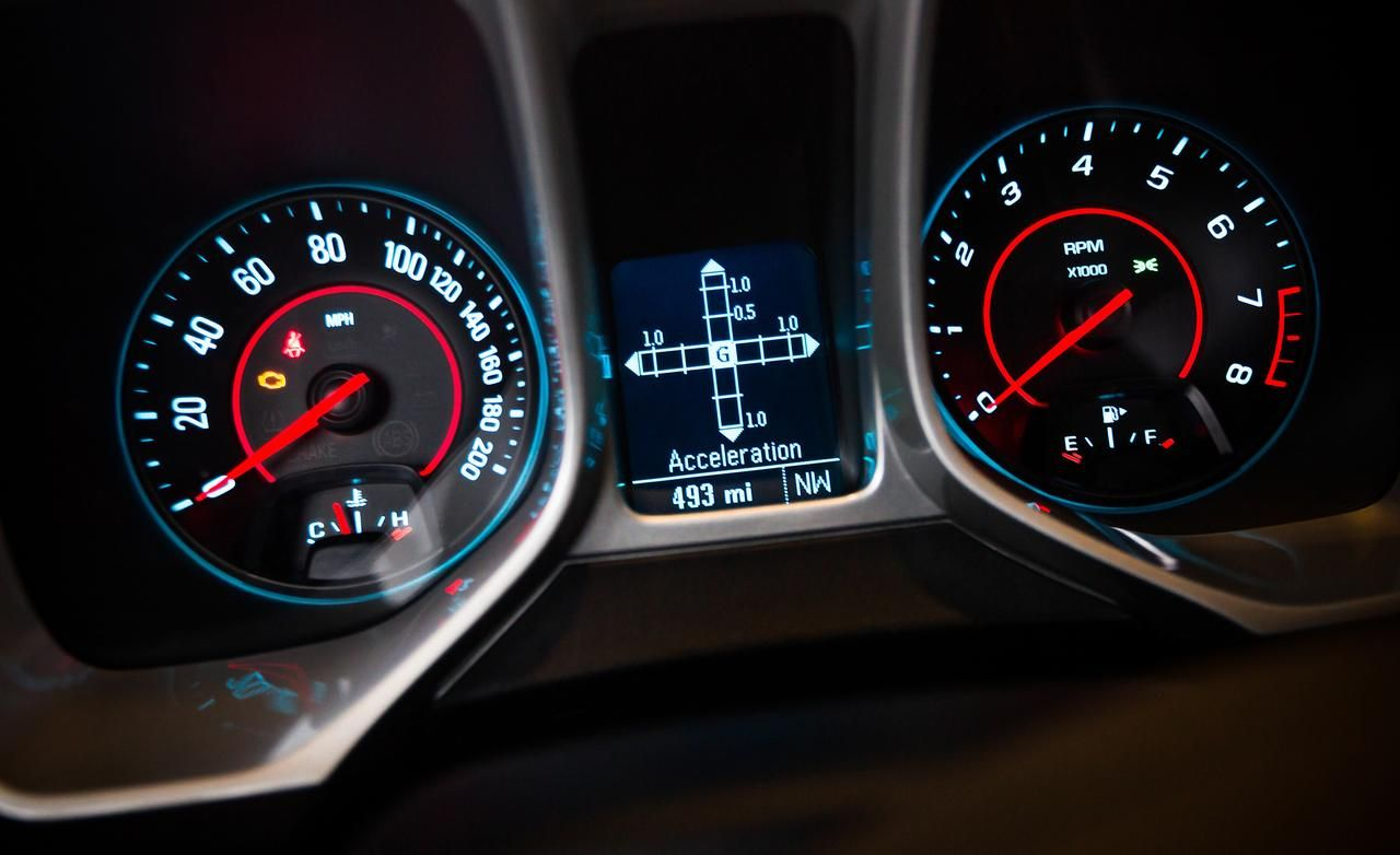 2014 Chevrolet Camaro Z/28 speedometer Wallpaper