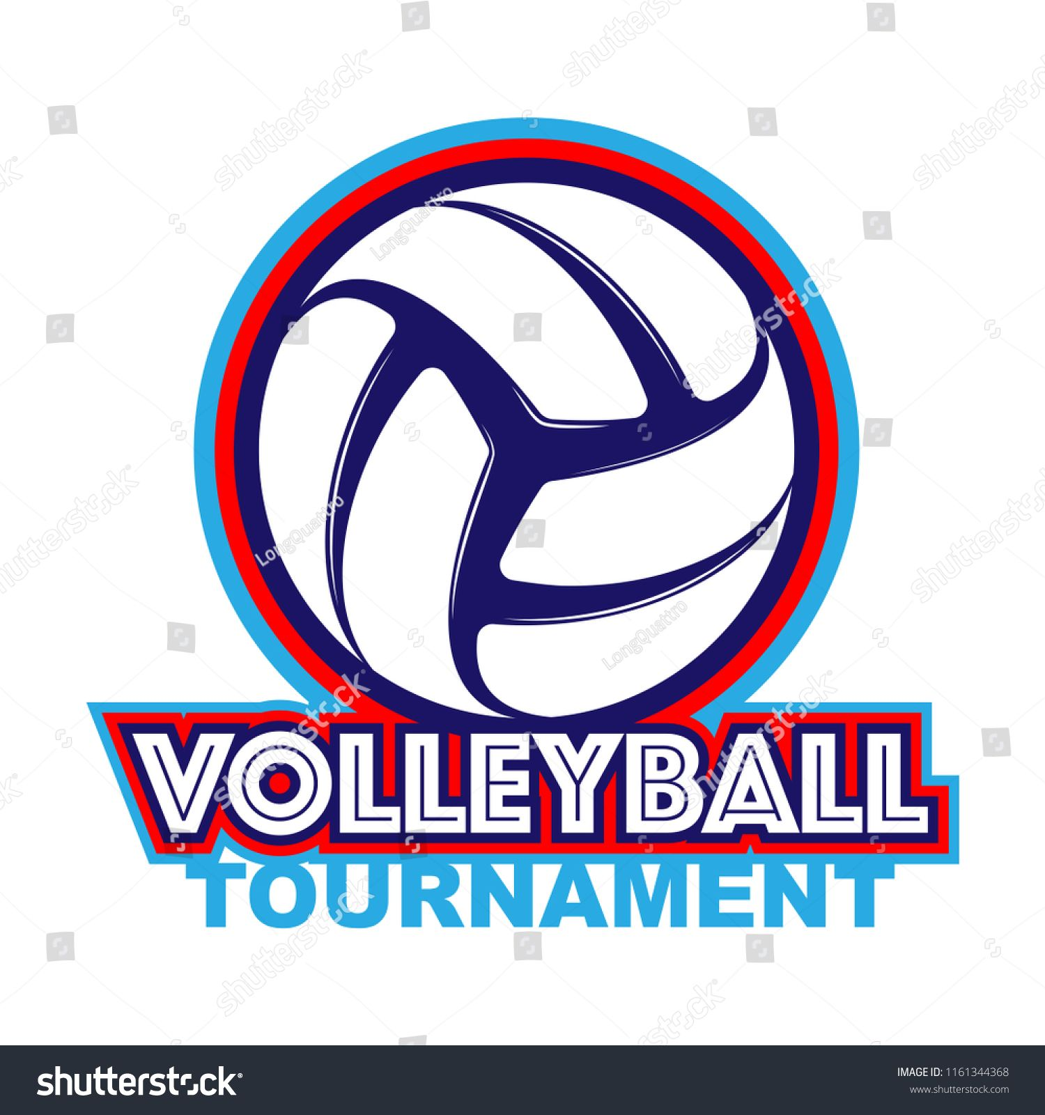 Abstract Volleyball Symbol With Sample Tournament Text Isolated On White Background Ad Ad Symbol Sample Abstract Volleyball Text Symbols Abstract