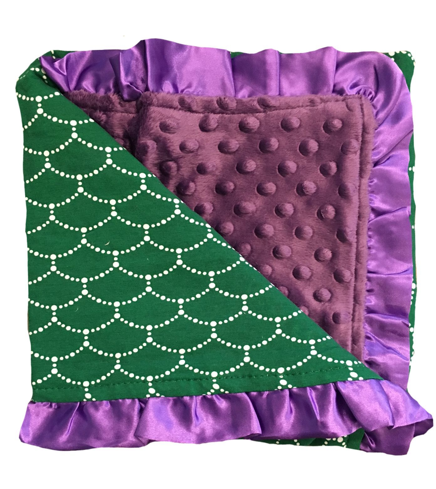 Minky blanket with mermaid design products pinterest blanket