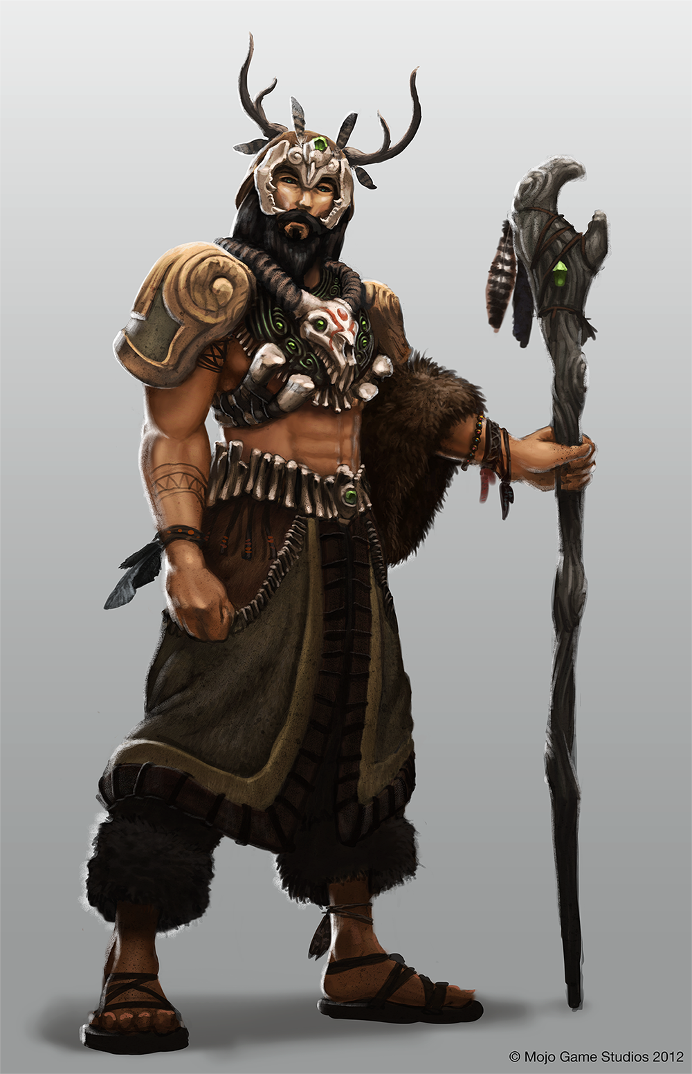 Skyrim Character Design Ideas : Pictures of druid practice character build the forest