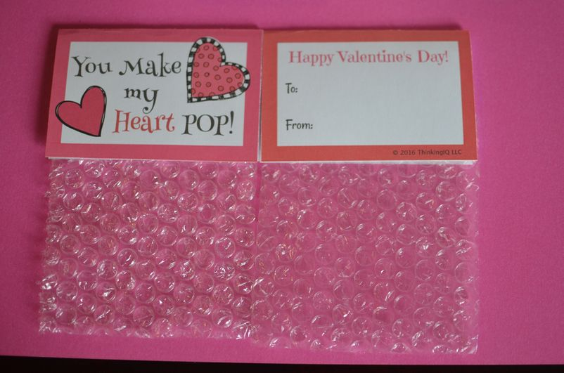 You Make My Heart Pop Valentine's Day Cards