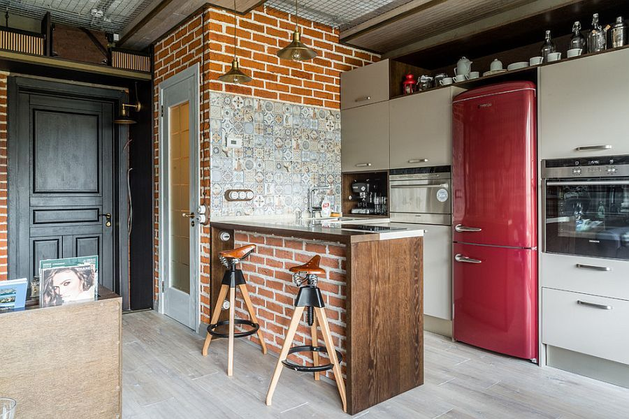 Tiles brick and handmade decor craft a