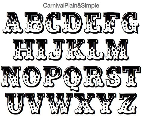 carnival plain simple font fonts calligraphy typography