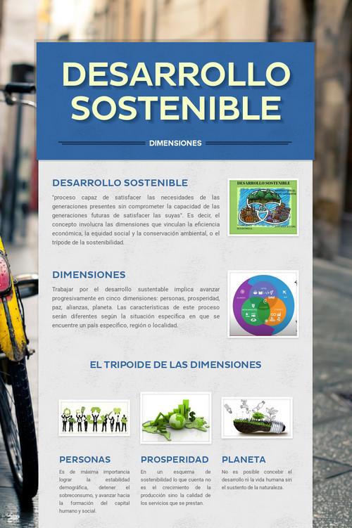 Desarrollo Sostenible Desarrollo Sostenible Sostenible Desarrollo Sustentable