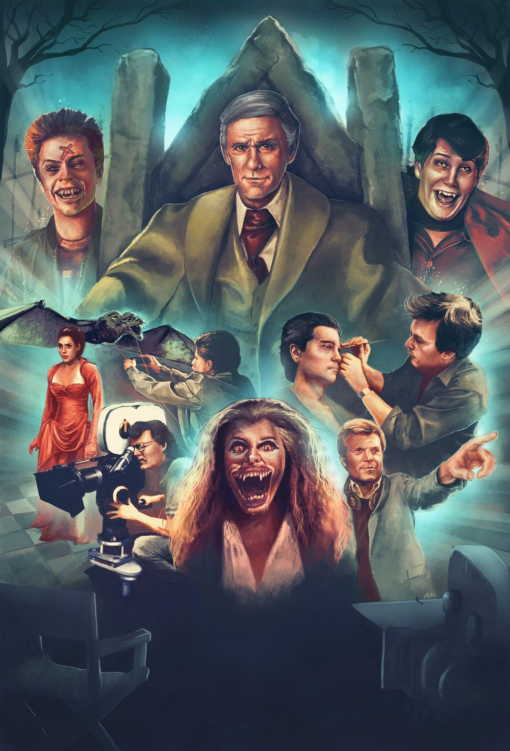 Pin By Dustyofthedead On Horror Movie Art Posters In 2020