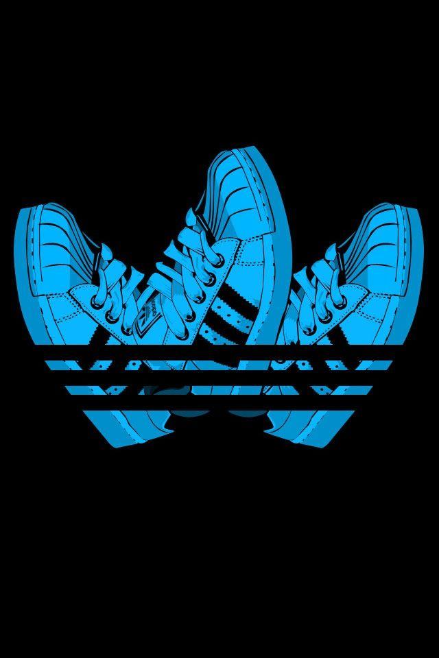 3 shoes   Adidas wallpapers, Adidas art