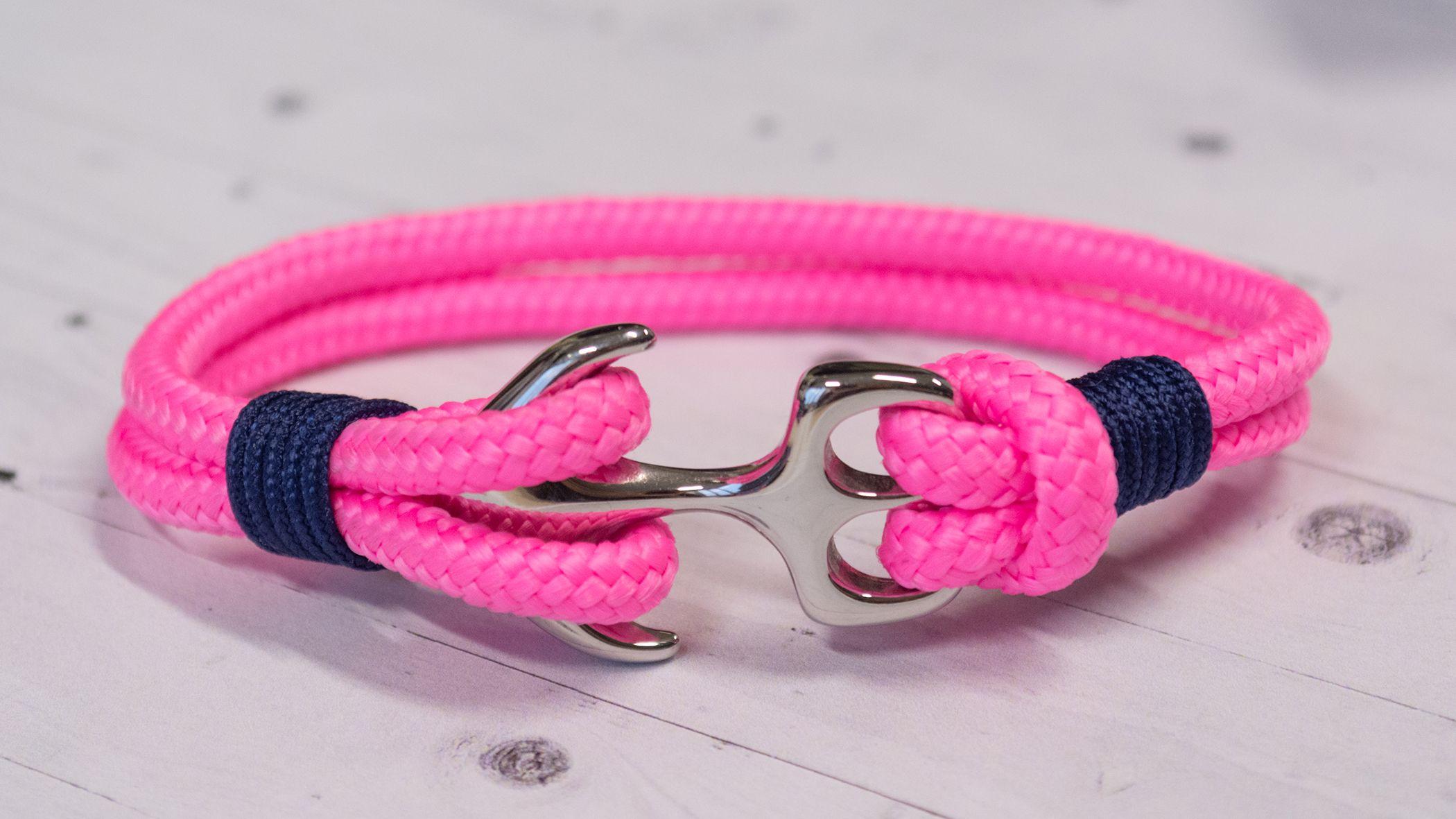 f88190102 Queen Mary - Prémium vitorlás karkötő, pink vitorlás karkötő ...