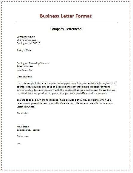 business letter format spacing http\/\/calendarprintablehub - standard business letters format