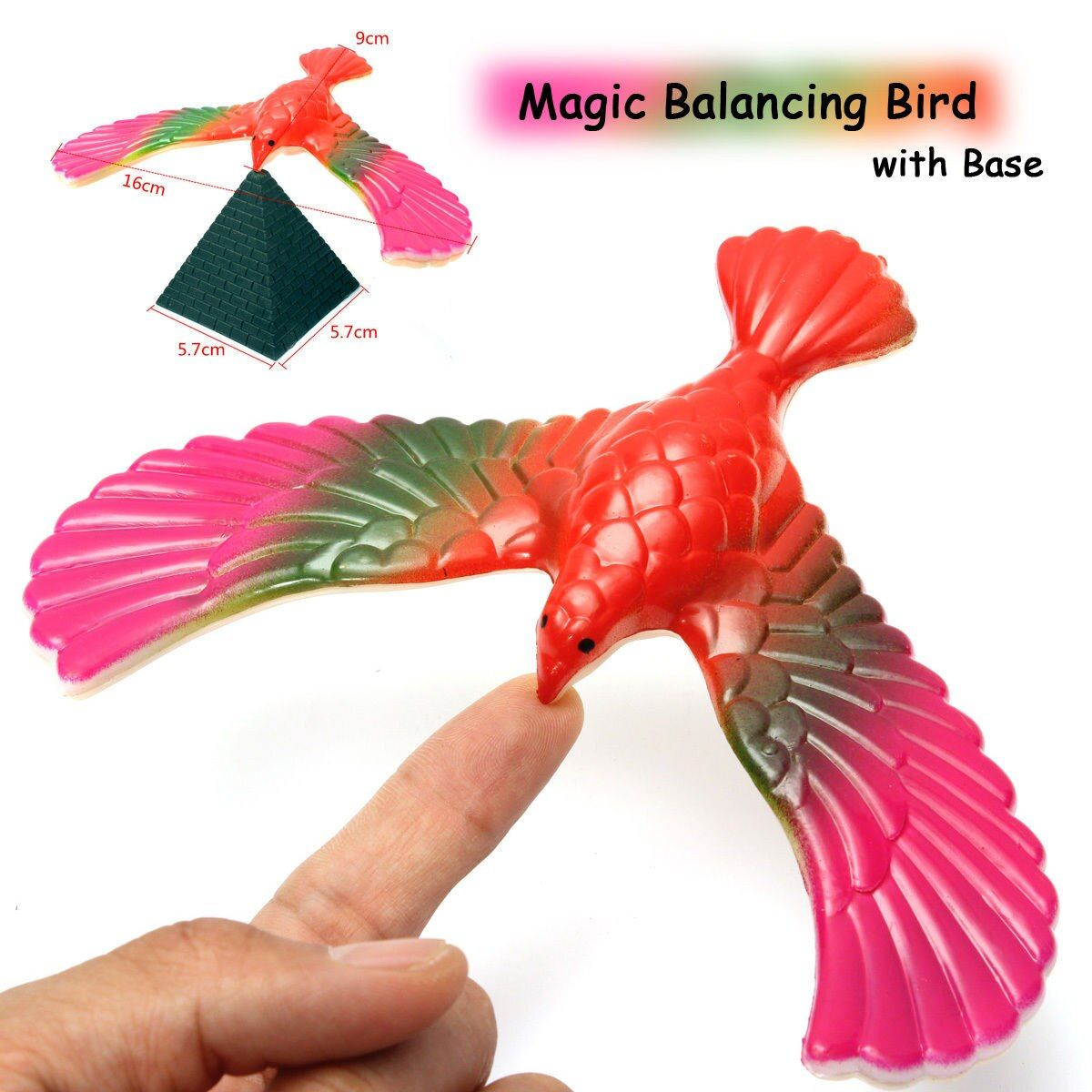 Scientific Balancing Bird Desk Toy Base Novelty Eagle Fun Learn Gag Fun Kids