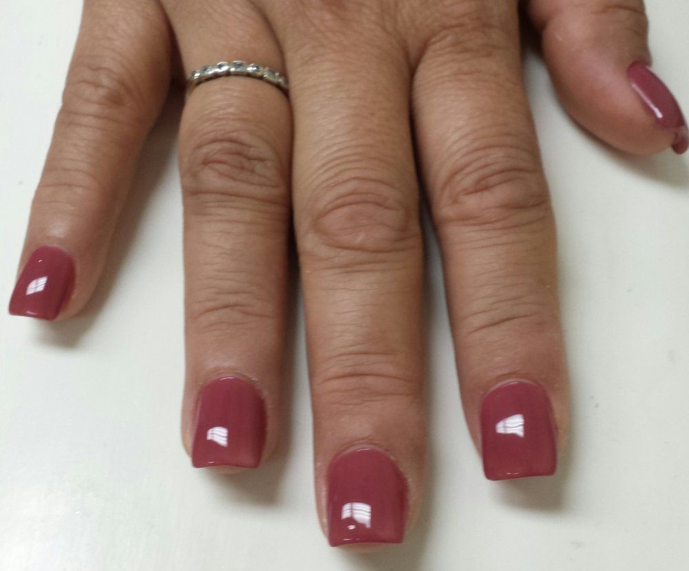 Fashion Nails and Spa - Visalia, CA, United States. Short, square ...