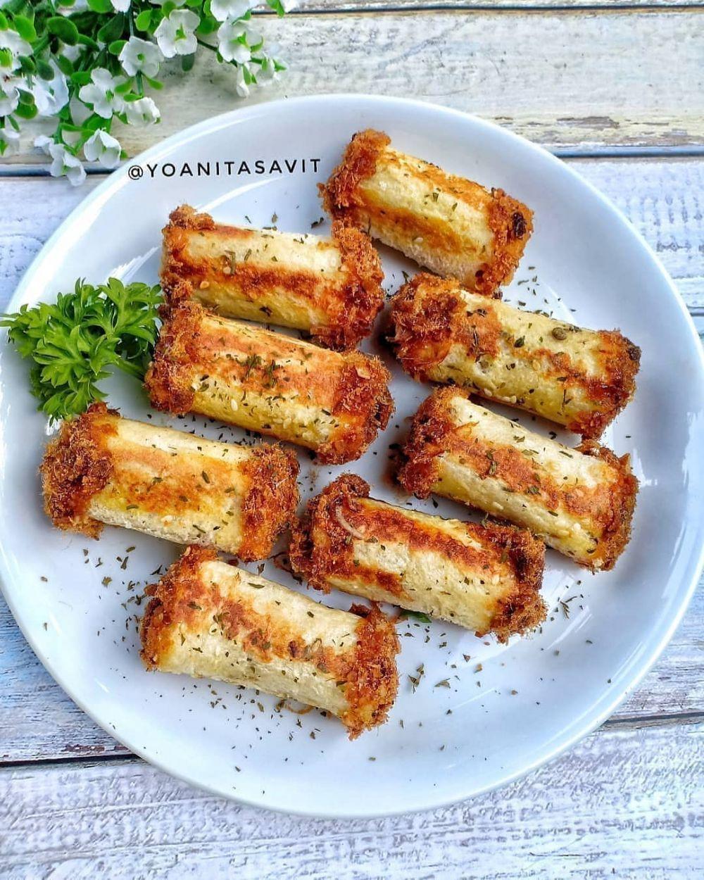 11 Resep Camilan Unik Enak Temani Libur Long Weekend Instagram Genikayu Isty Saricakes Resep Roti Gulung Masakan Unik