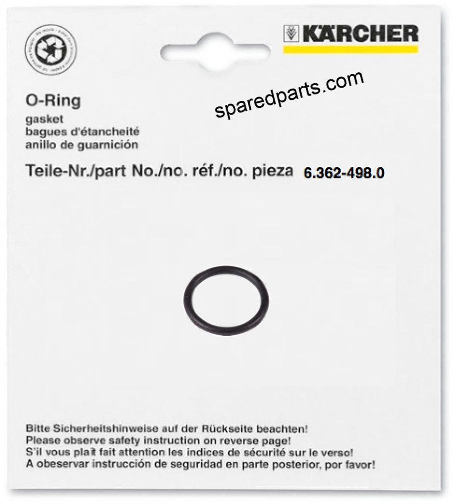 Karcher Puzzi Carpet Cleaners O Ring Seal 6 362 498 0 Carpet Cleaners Suction Hose O Ring