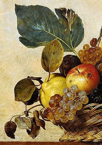 Caravaggio, canestra ambrosiana