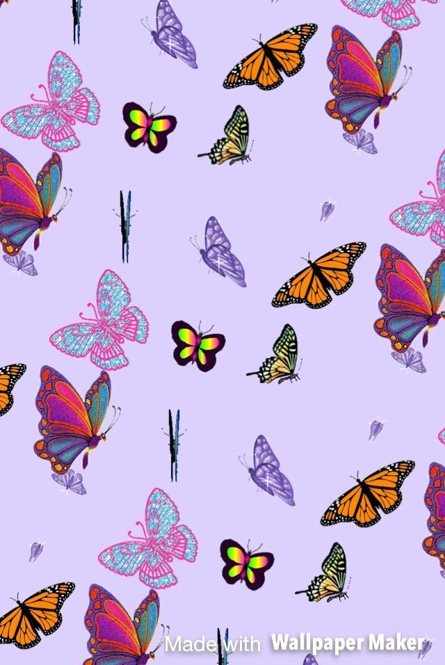 Butterfly Iphone tapety Estetická | ipcwallpapers