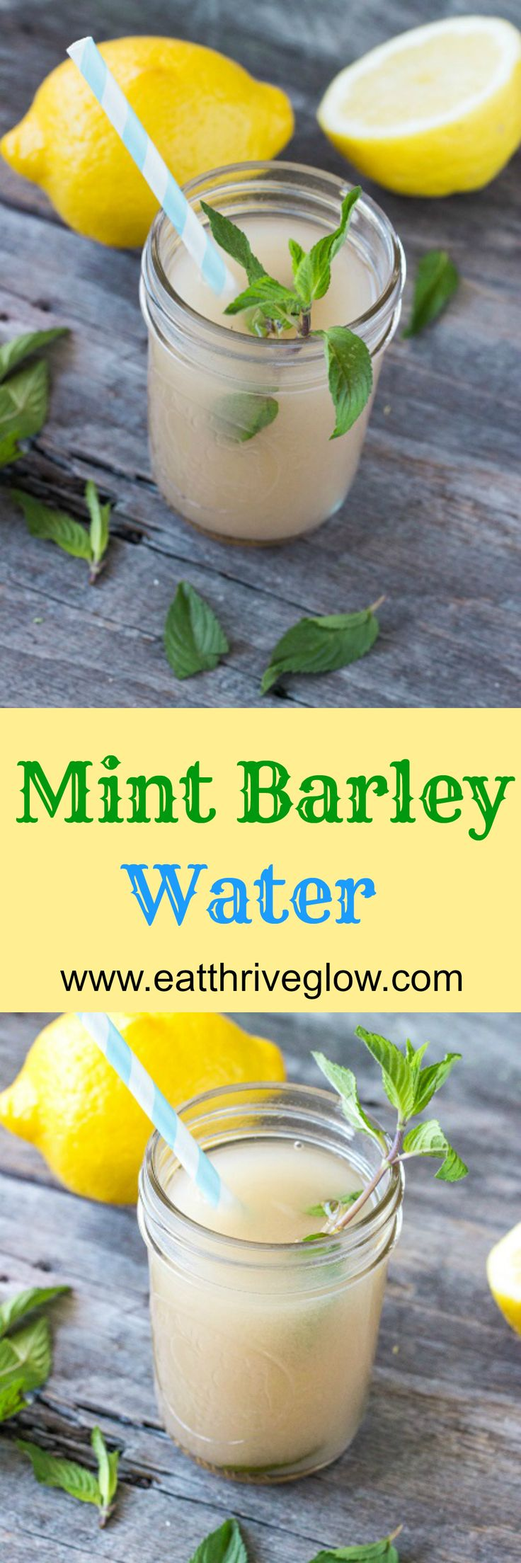 Mint Barley Water (Ancient Greek Kykeon) Recipe Barley