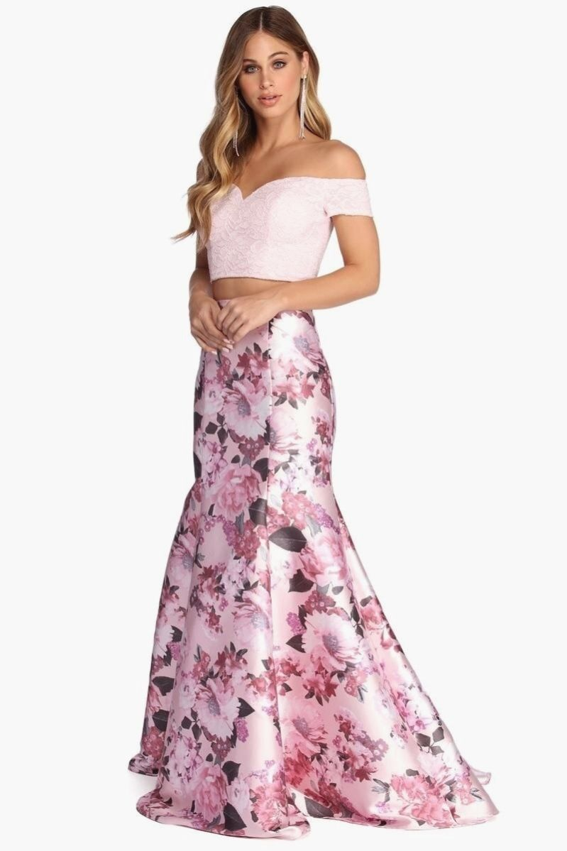 Mel Lace Two Piece Dress Windsor In 2020 Dresses Two Piece Dress Piece Dress [ 1199 x 799 Pixel ]