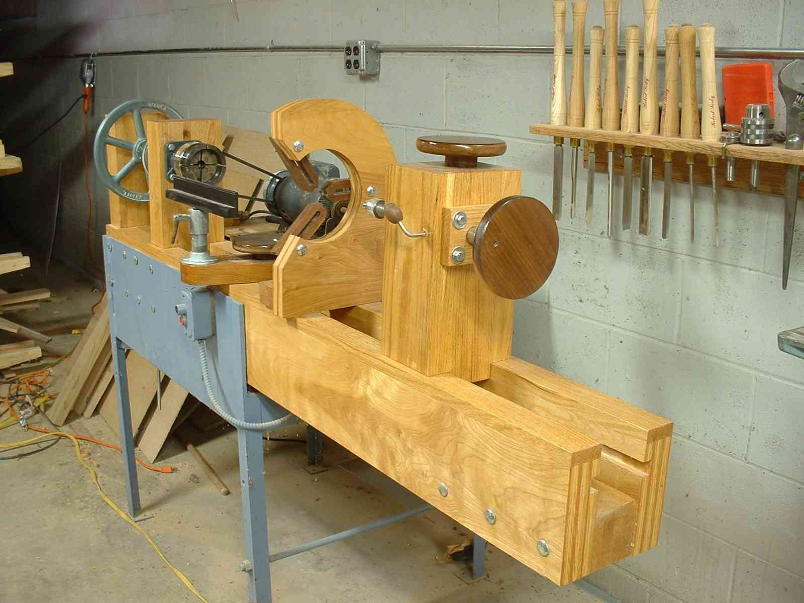 home built wood lathe   lathe in 2019   woodworking lathe