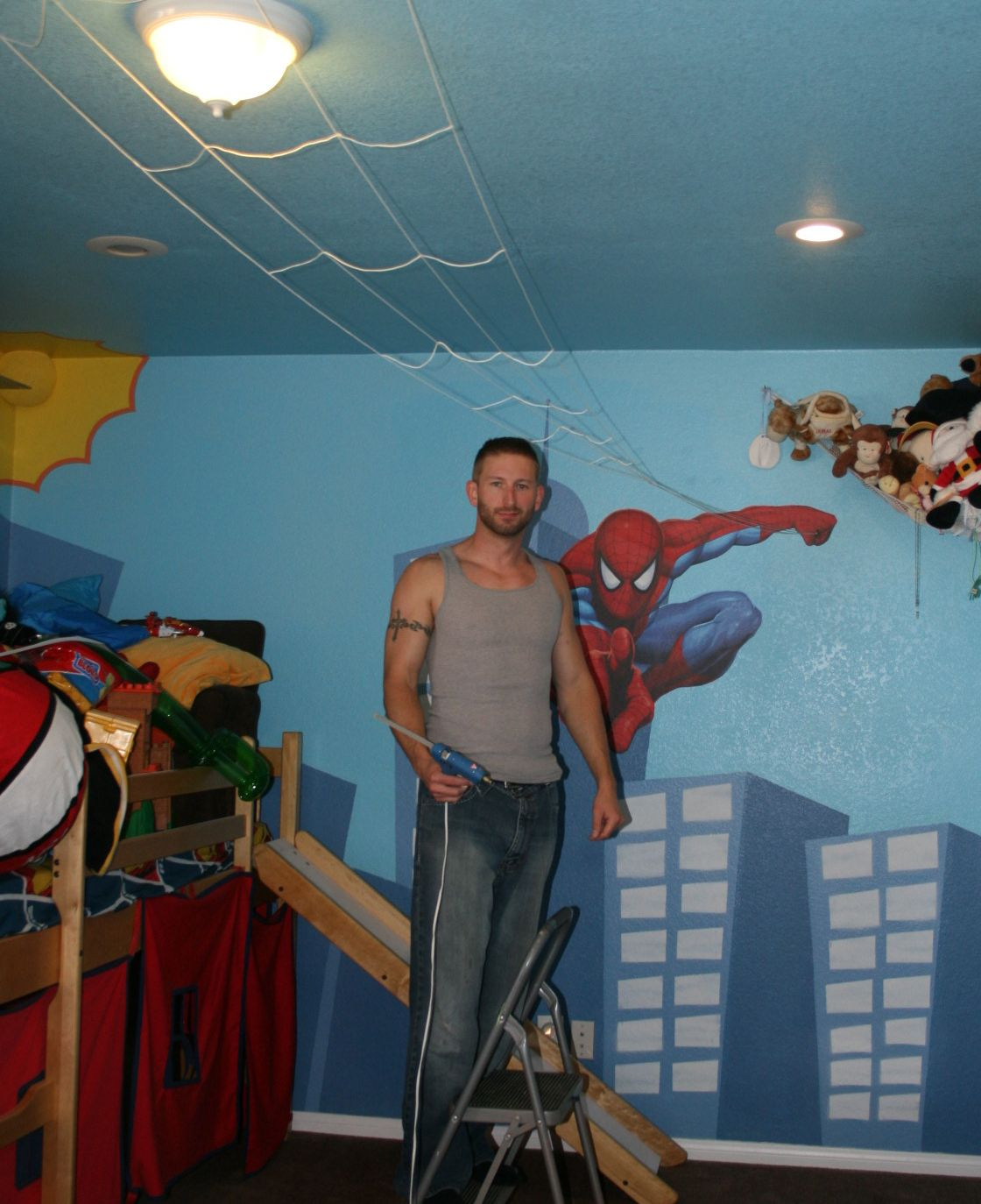 Spiderman bedroom ideas - Spiderman Room