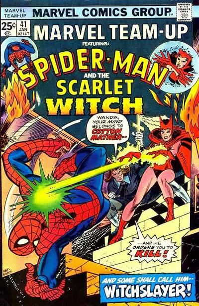 marvel team up   Marvel Team-Up Vol 1 41 - Marvel Comics Database